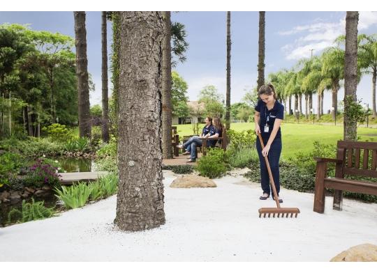 Fröhlich cria jardim sensorial  para público interno