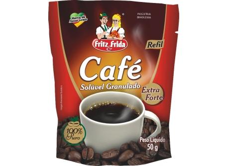 CAFÉ SOLÚVEL 50G SACHÊ