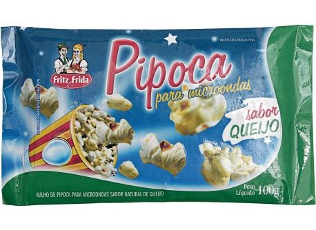 PIPOCA PARA MICRO-ONDAS QUEIJO 100G