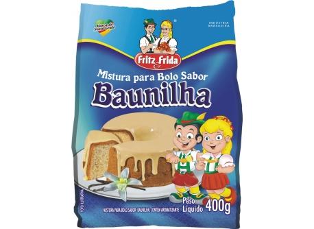 MISTURA PARA BOLO BAUNILHA 400G