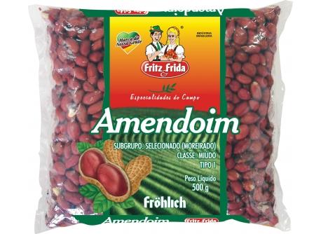 AMENDOIM VERMELHO FRITZEFRIDA T-1 FD/10X500GR