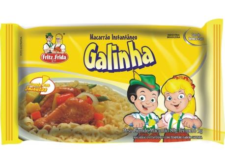 MACARRÃO INSTANTÂNEO GALINHA 80G
