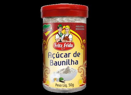 POTE AÇÚCAR DE BAUNILHA 50G