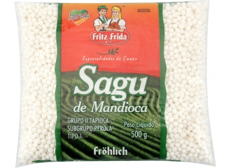 SAGU DE MANDIOCA 500G